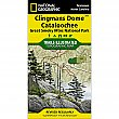 National Geographic Clingmans Dome, Cataloochee: Great Smoky Mountains National Park Trail Map
