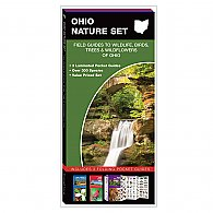Ohio Nature Set: Field Guides to Wildlife, Birds, Trees & Wildflowers of Ohio