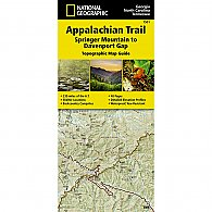 AT Topo Map Guide - Springer Mtn