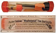 "EOG ""Weatherproof"" 3-Piece Wet/Dry Weather Fire Starting Kit"