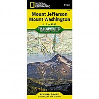 National Geographic Mount Jefferson, Mount Washington Trail Map
