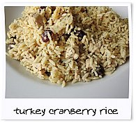 Camp Chow - Turkey, Cranberry with Rice Prepared