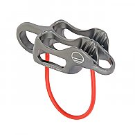 Wild Country Pro Guide Lite Belay-Rappel Device (Color: Gunmetal/Tangerine)