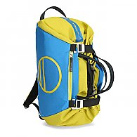 Wild Country Rope Bag - Front (Color: Citronelle/Detroit Blue)