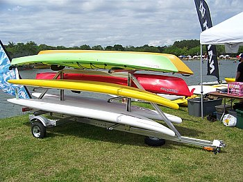 Trailex Six Kayak or SUP Trailer (SUT-450-M6)