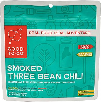 Good To-Go Smoked Three Bean Chili - Double Serving