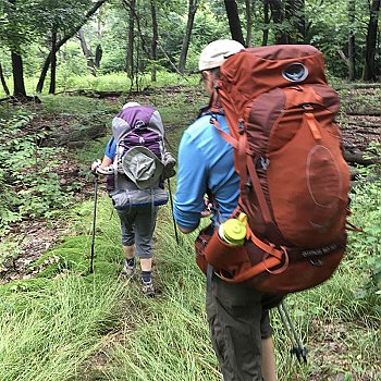 Caesar's Creek Introduction to Backpacking Skills Course