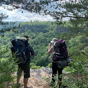 """Flora & Fauna"" Big South Fork 3-Day/2-Night Backpacking Trip - June 26th through 28th"