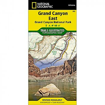 National Geographic Grand Canyon East (Grand Canyon National Park) Trail Map