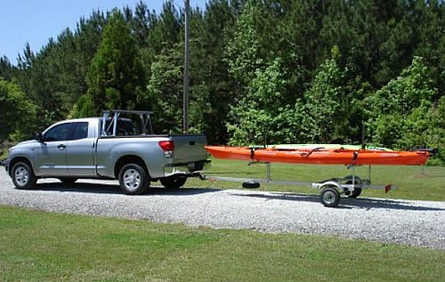 Great Miami Outfitters Trailers Trailex Kayak Or Canoe Trailer