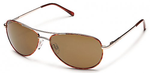 Color: Tortoise/Brown Polarized