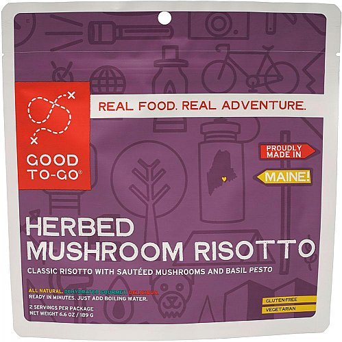 Good To-Go Herbed Mushroom Risotto - Double Serving