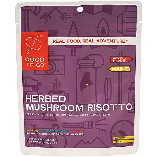 Good To-Go Herbed Mushroom Risotto - Single Serving