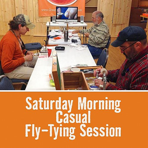 Saturday Morning Casual Fly-Tying Session - January 12, 2019