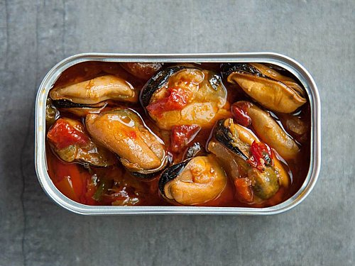 Patagonia Savory Sofrito Mussels
