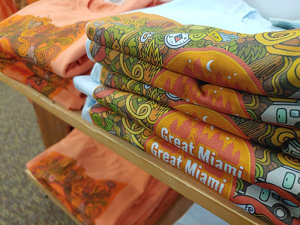 Great Miami Outfitter's Ohio Logo Long-Sleeve Shirt