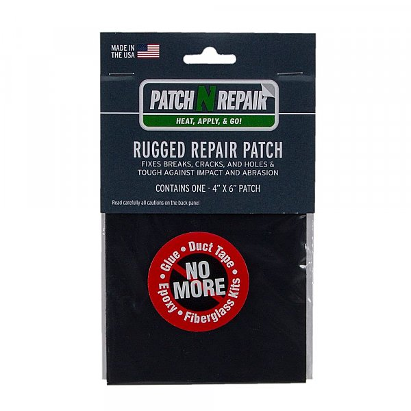 PatchNRepair Rugged Repair Patch Permanent 4x6