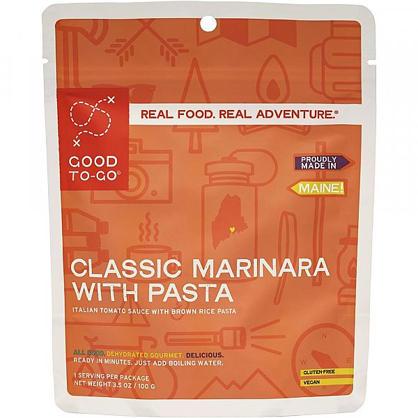 Good To-Go Classic Marinara With Pasta - Single Serving