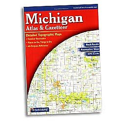 DeLorme Michigan Atlas & Gazetteer