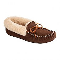 Acorn Women's Sheepskin Moxie Moc Slippers F15