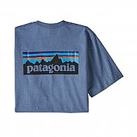 Patagonia Men's Short-Sleeved P-6 Logo Responsibili-Tee